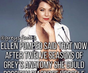 ellen pompeo, facts, and funny image