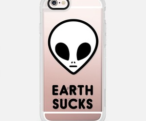 alien, cool, and iphone image