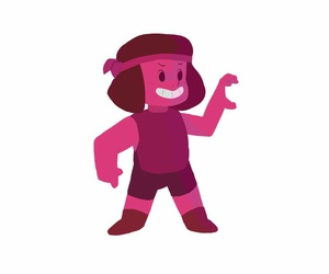 ruby, rubi, and steven universe image