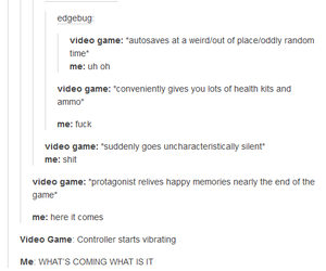 funny, tumblr, and video games image