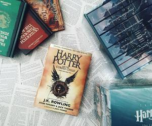 bibliophile, books, and harry potter image