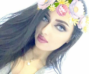 arabs, arab girls, and arabic beauty image