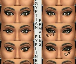 diy, eyeliner, and girl image