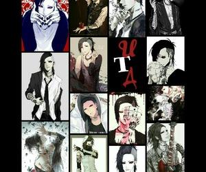 anime, uta, and tokyo ghoul image