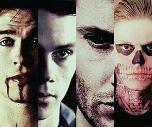 american horror story, dean winchester, and supernatural image