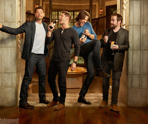 supernatural, Jensen Ackles, and misha collins image