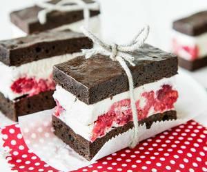 cake, chocolate, and ice cream image