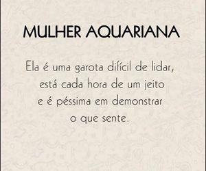 aquario, mulher, and aquariana image
