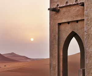 architecture and desert image