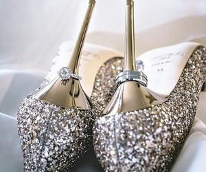 shoes, heels, and rings image