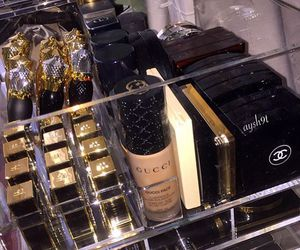 makeup, gucci, and beauty image
