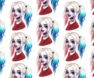 wallpaper, harley quin, and suicide squad image