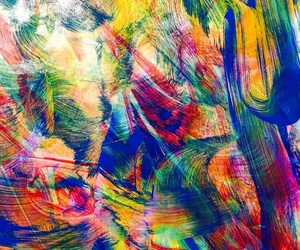 abstract, art, and colorful image