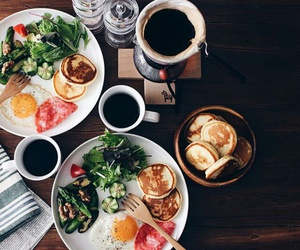 brunch, food, and breakfast image