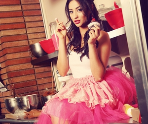 shay mitchell, pretty little liars, and pink image