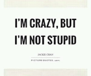 crazy, quote, and words image
