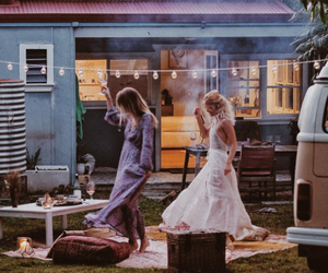 boho, indie, and party image