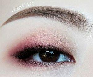 asian, eyes, and make up image