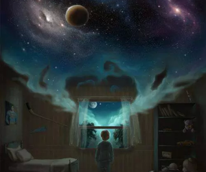 Dream and imagination image