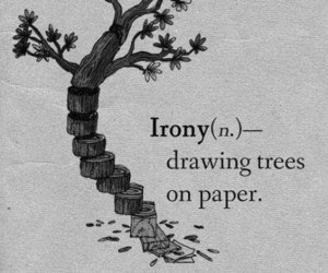 draw and irony image
