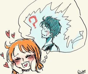 anime, pirate, and anime couple image