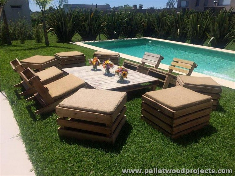 Diy Pallet Garden Furniture Shared By Pallet Wood Projects