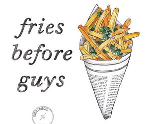 fries, guys, and quote image