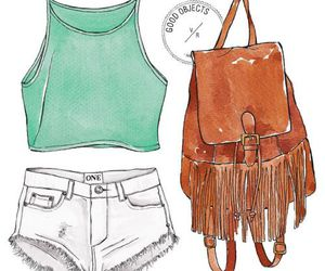 draw, fashion, and illustration image