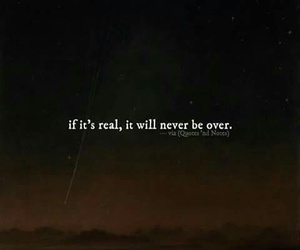 quote, real, and true love image