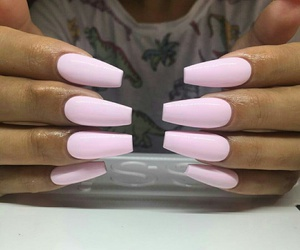 gel, long, and nails image