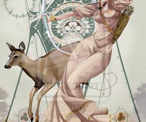 artemis, deusa grega, and ysa image