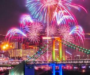 fireworks, japan, and tokyo image
