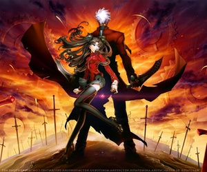 rin, anime, and fate stay night image