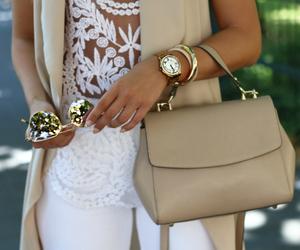 bag, heart, and sunglasses image