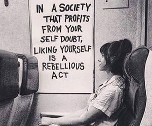 quotes, society, and rebel image