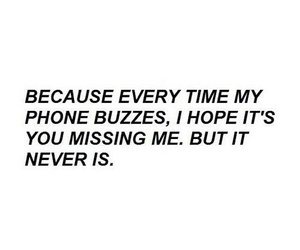quotes, sad, and phone image