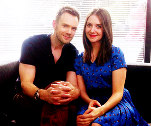 alison brie, joel mchale, and milady x milord image