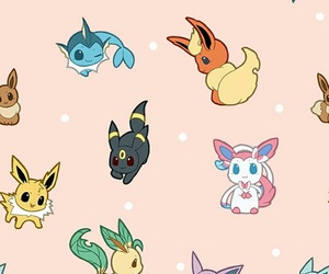 pokemon, eevee, and vaporeon image