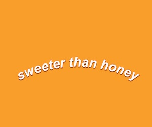 honey, quotes, and yellow image