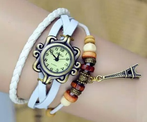 bracelet, parís, and watch image