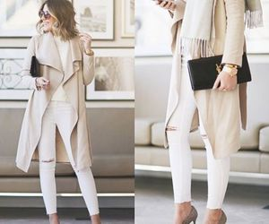 neutral street outfit image