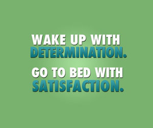 determination, satisfaction, and fitness image
