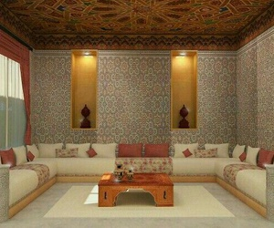 moroccan, sedari, and salon marocain image