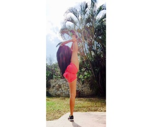 fit, gymnastics, and fitness image