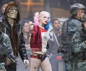 harley quinn, suicide squad, and comic image