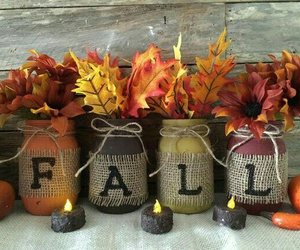 fall, autumn, and leaves image