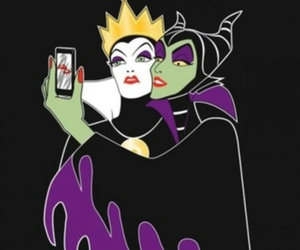 disney, selfie, and maleficent image