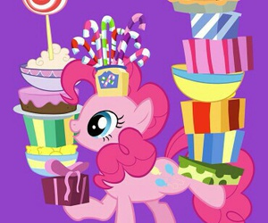 wallpaper, pinkie pie, and 🎁 image