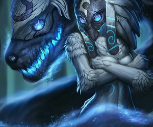 kindred and lol image