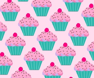 cupcakes, cute, and patternator image